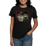Peace Sign Women's Dark T-Shirt