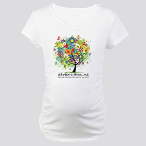 2-FAMILY TREE ONE MORE Maternity T-Shirt