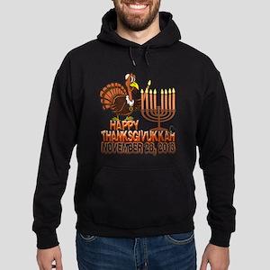 Happy Thanksgivukkah Thankgiving Hanukkah Hoodie