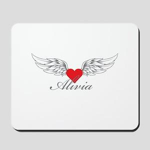 Angel Wings Alivia Mousepad