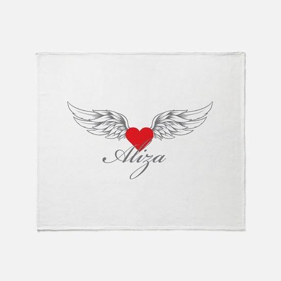 Angel Wings Aliza Throw Blanket
