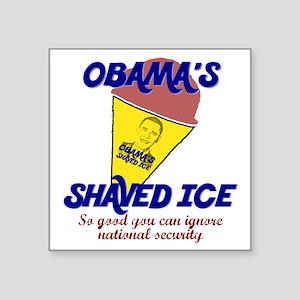 """snowcone Square Sticker 3"""" x 3"""""""