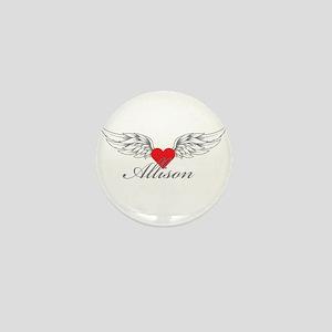 Angel Wings Allison Mini Button