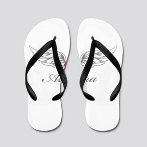 Angel Wings Alondra Flip Flops