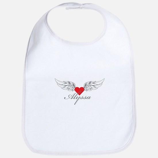 Angel Wings Alyssa Bib