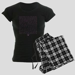 2-secondstar Women's Dark Pajamas