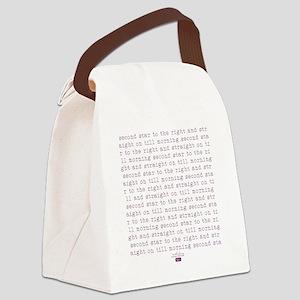 2-secondstar Canvas Lunch Bag