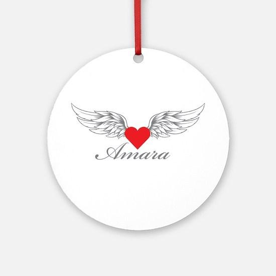 Angel Wings Amara Ornament (Round)