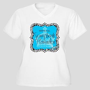 hoarder-mid Women's Plus Size V-Neck T-Shirt