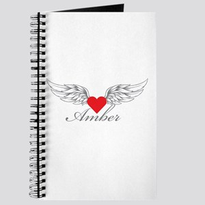 Angel Wings Amber Journal