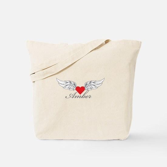 Angel Wings Amber Tote Bag