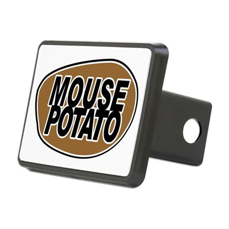 mouse_potato_for_CP Rectangular Hitch Cover