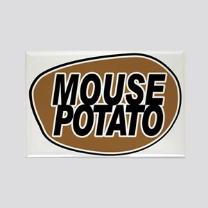mouse_potato_for_CP Rectangle Magnet