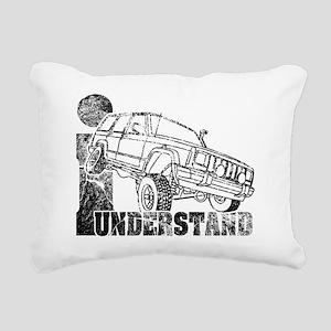 understand_XJ_Black_for_ Rectangular Canvas Pillow