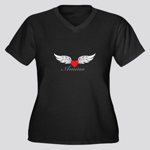 Angel Wings Amina Plus Size T-Shirt