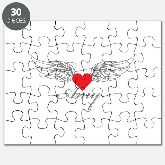 Angel Wings Amy Puzzle