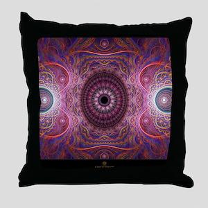 fractal_mathematics_math Throw Pillow