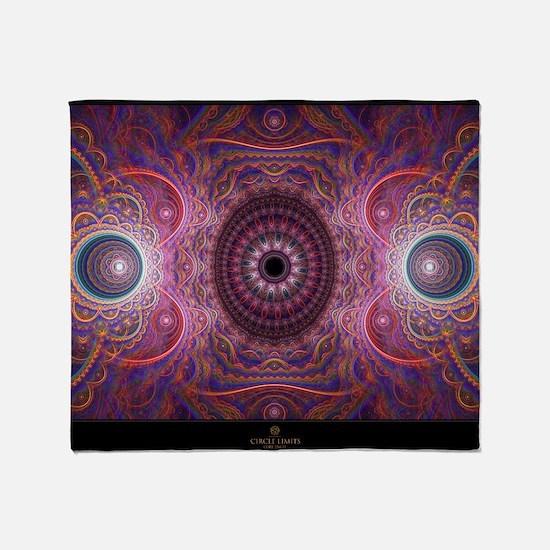 fractal_mathematics_math Throw Blanket