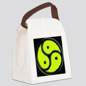 BDSM simple yellow logo tbc 002 Canvas Lunch Bag