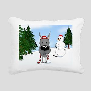 DaneBlueJan Rectangular Canvas Pillow