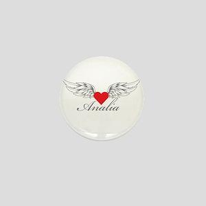 Angel Wings Analia Mini Button