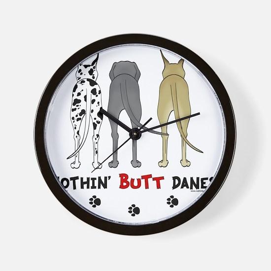 DaneButtsLight Wall Clock