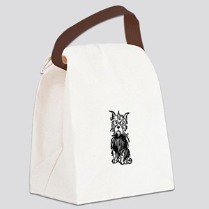 Wizard of Oz Toto Dog Canvas Lunch Bag