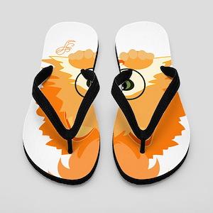 Pomange Flip Flops