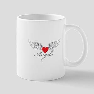 Angel Wings Angela Mugs