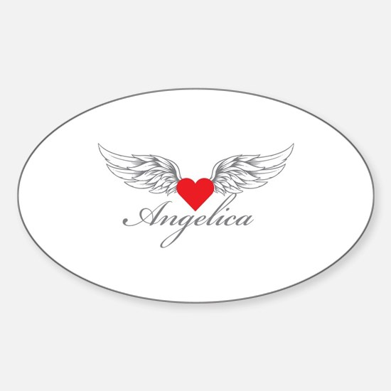 Angel Wings Angelica Decal