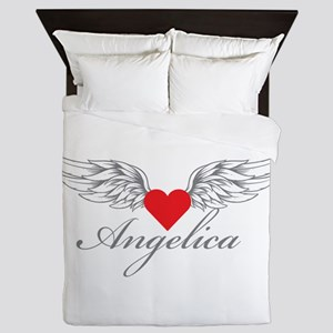 Angel Wings Angelica Queen Duvet