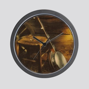 Banjo Picture Larger Wall Clock