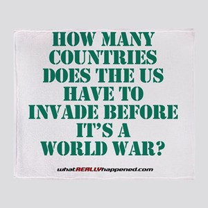 worldwar Throw Blanket