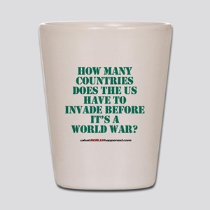 worldwar Shot Glass