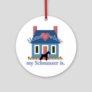 Standard Schnauzer Ornament (Round)