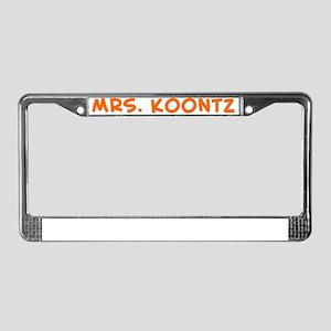 1263318018 License Plate Frame