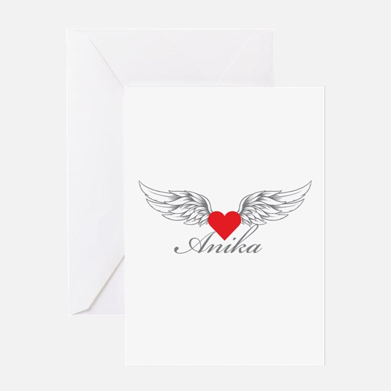 Angel Wings Anika Greeting Cards