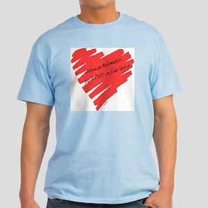 Alaskan Malamute Love on 4 Legs Light T-Shirt