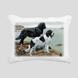 newfoundland copy Rectangular Canvas Pillow