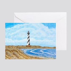 Cape Hatteras mp Greeting Card