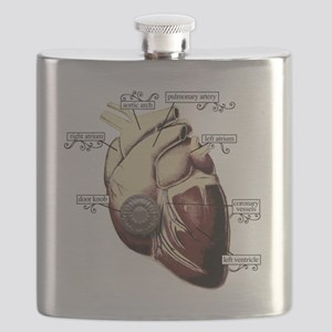 Heart Door Flask