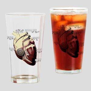 Heart Door Drinking Glass