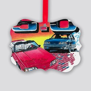 Mustang% Picture Ornament