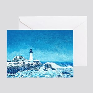 Winter Storm Watch mp Greeting Card