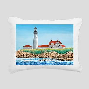 2-Portland Head Light mo Rectangular Canvas Pillow