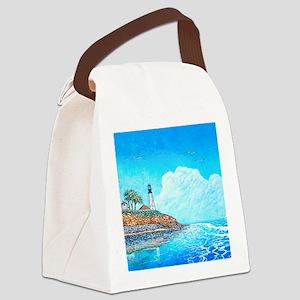 Coast Guard Light mouse pad Canvas Lunch Bag