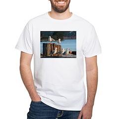 Seagulls White T-Shirt