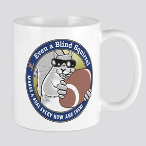 Football Blind Squirrel Mug