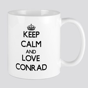Keep Calm and Love Conrad Mugs