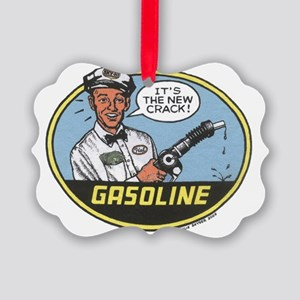 Gasoline Use This Picture Ornament